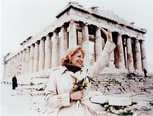 The Last Greek Goddess! Melina Mercouri.
