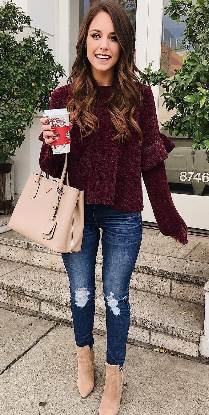 69 Winter Outfits for School You'll Love