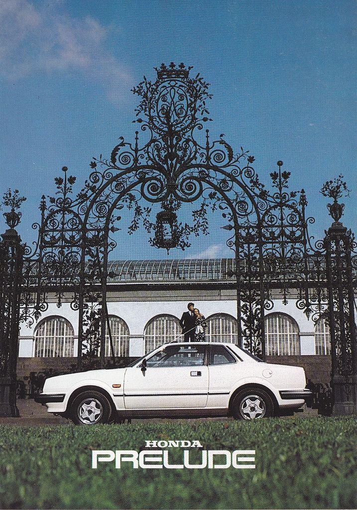 Honda Prelude Mk1 Benelux Brochure 1982