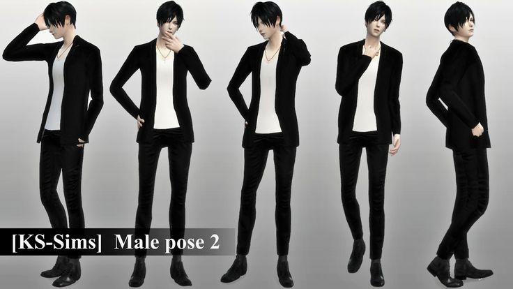 KS-Sims - [KS-Sims] Male pose 2 20 pose setDownload(HP)