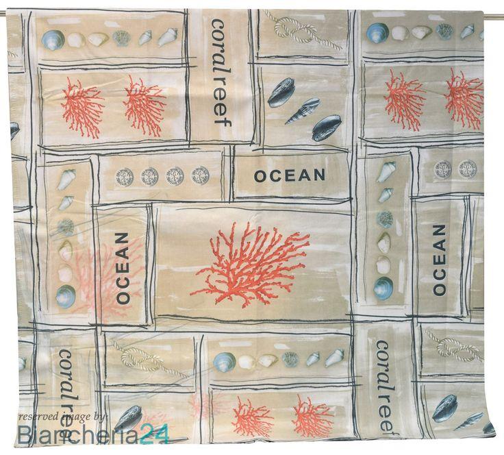 Telo mare microfibra misura maxi maè ocean beige. Biancheria Via Roma,60 #Lenzuola #Copripiumini #Trapunte #Asciugamani #Accappatoio. www.biancheria24.it