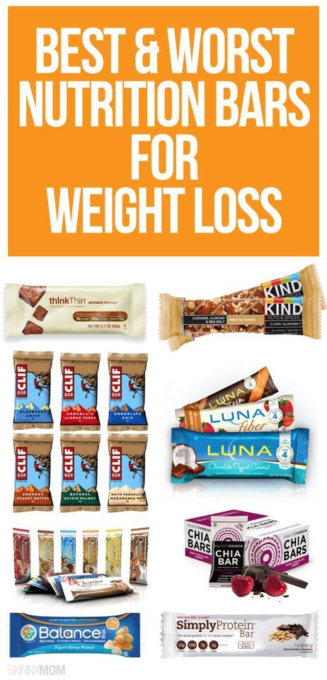 The Nutrition Bars Causing You to Gain Weight | Read more ...