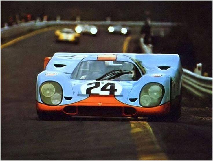 Jo Siffert / Brian Redman, #24 Porsche 917K (John Wyer Automotive Engineering Ltd.), 1000 Km. Spa-Francorchamps 1970 (1st)