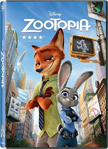 Zootopia||  Zootopia INR 659.00 View Details  1 of 1 people found the following review helpful   one of the best disney films I have ever seen   By  Amazon Customer - See all my reviews  Verified Purchase(What is this?)  This review is from: Zootopia (DVD)  Here I have reviewed one of the best disney films I have ever seen . There was so much suspense in the movie. I laughed throughout the film. I really loved Judy Hopps and Nick Wilde. I have only one complain - they have given me the…