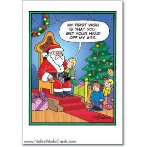 funny christmas cards | Wildest Christmas Wishes Set of 12 Funny Christmas Cards