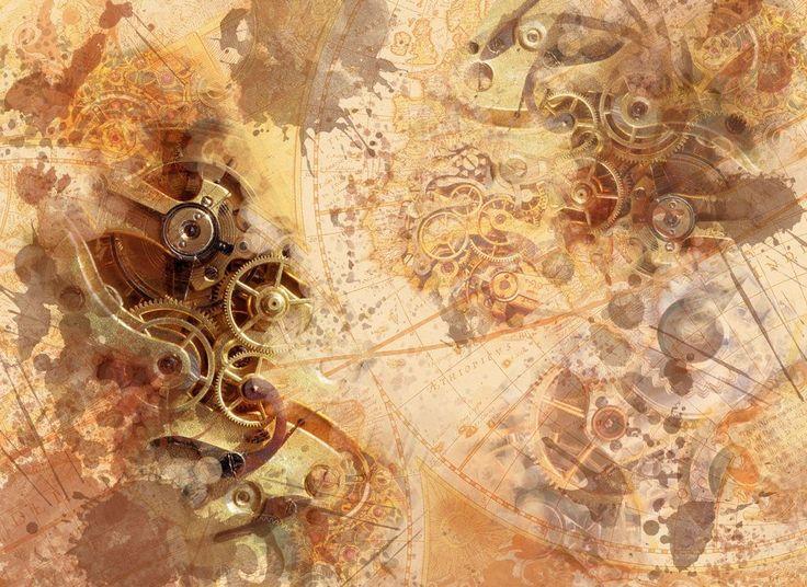 Best 25+ Steampunk Wallpaper Ideas On Pinterest