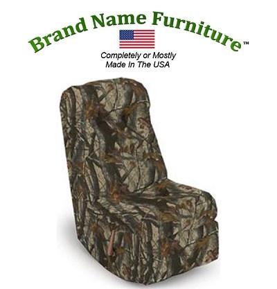 Camouflage Video Rocker Recliner in Realtree® Hardwoods