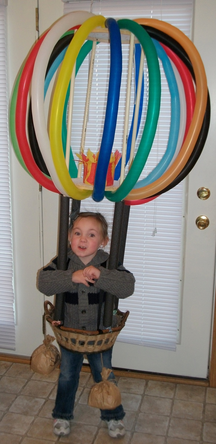 Hot Air Balloon kids costume For Wylie...finally