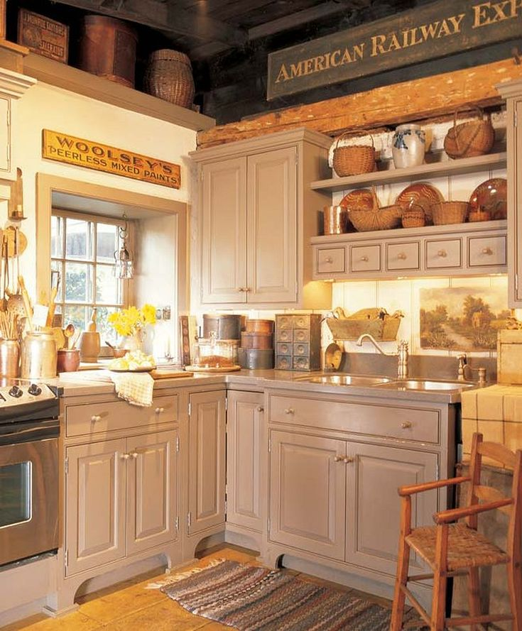 Best 25+ Primitive Kitchen Decor Ideas On Pinterest