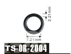 free shipping Tenso 100pcs 7.21*2.21mm For Honda Car Fuel Injector Viton O'Rings ORings O Rings O-Rings OR-2004 #Affiliate