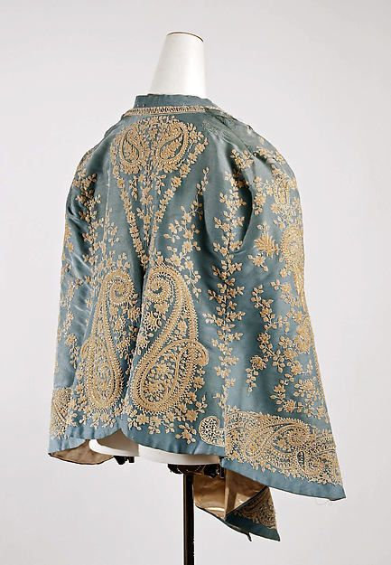 Mantle (image 2) | probably French | 1880s | silk | Metropolitan Museum of Art | Accession Number: C.I.50.36