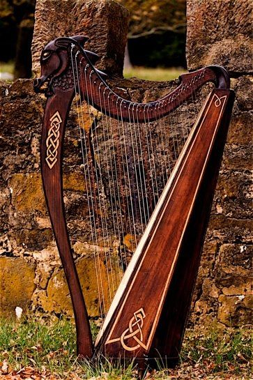 Celtic harp - If i could play an instrument...