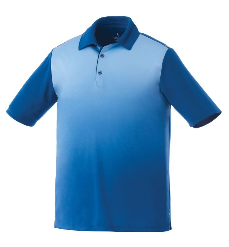 Fashion Golf Shirts - The Elevate Shimmer Shirt with a Gradient Print   #golfshirts #corporateclothing