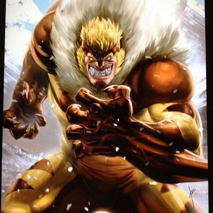 Image result for sabertooth comic | Sabretooth marvel ...