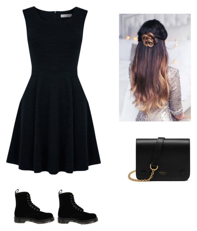 """Untitled #2"" by hannaklar on Polyvore featuring Oasis, Dr. Martens and Mulberry"
