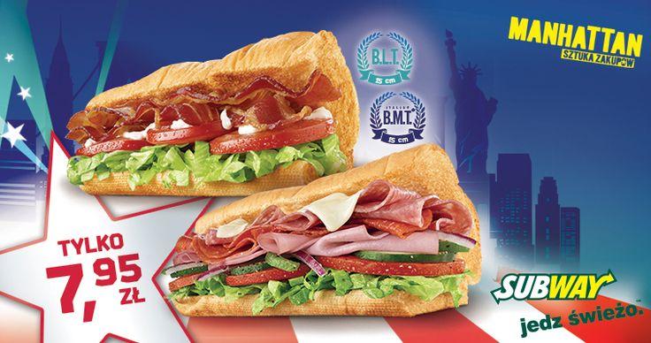 Przepyszne kanapki w Subwayu w ekstra cenie, a ponadto 3 ciastka w cenie 2!