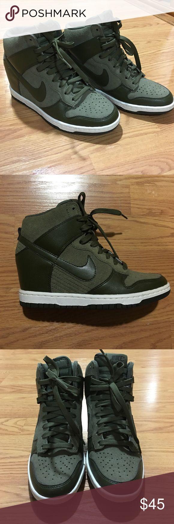 Never worn Nike sneaker wedges