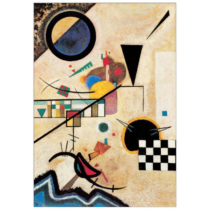 KANDINSKY - Solidi in contrasto 1924 70x100 cm #artprints #interior #design #art #print #iloveart #followart #artist #fineart #artwit  Scopri Descrizione e Prezzo http://www.artopweb.com/autori/wassily-kandinsky%20/EC21677