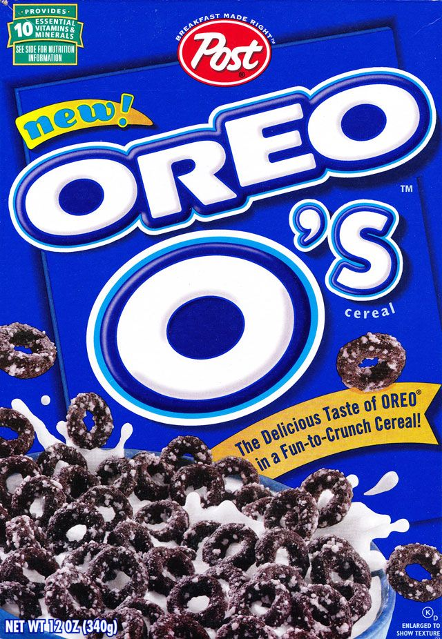 Oreo O's Cereal (Post; 1998)
