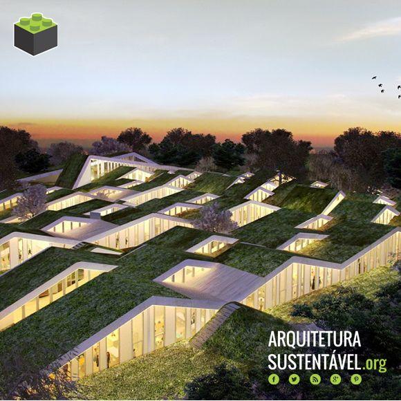 Conheça o projeto da escola primária sustentável na Dinamarca