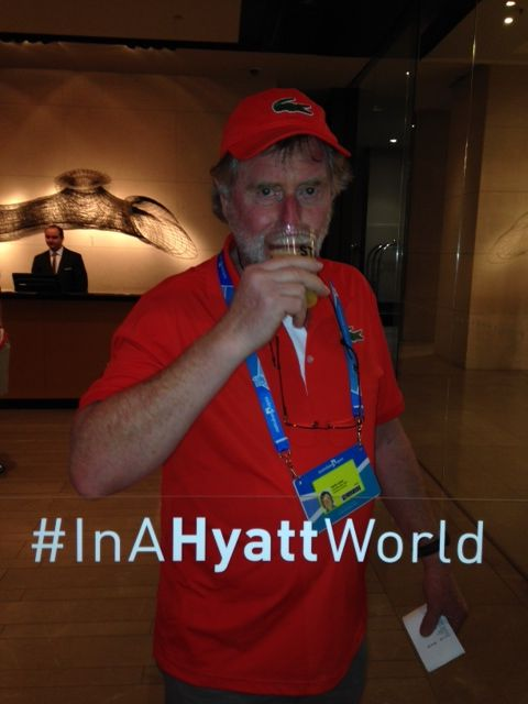 #InAHyattWorld each sip is better than the last.