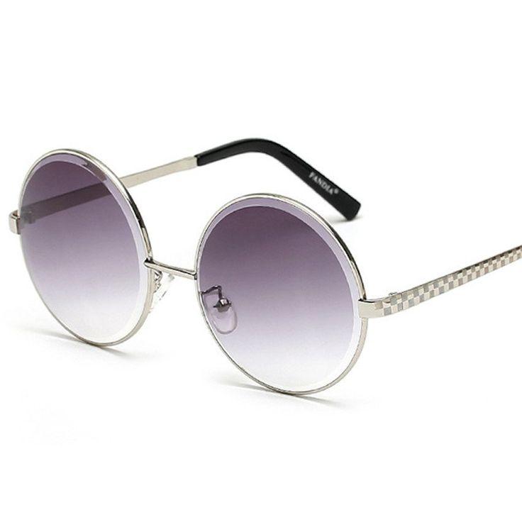 Swinging On A Star Round Sunglasses