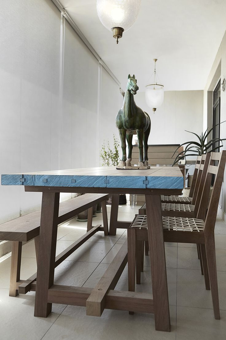 Gentlemen | James Mudge | Dining | Oak | Balcony | Apartment | Interior design | Etienne Hanekom Interiors