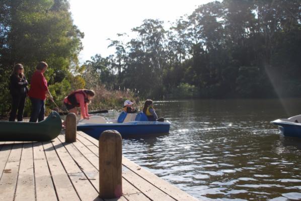 Jubileelake.com: Paddle boats 2