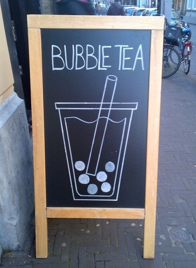 Bubble Tea (8Tea5 den haag! :D)