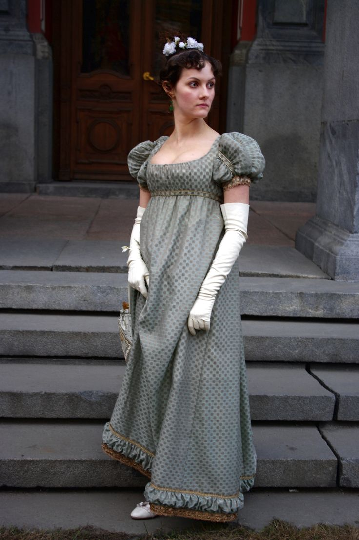 regency bal gown 1812-1814