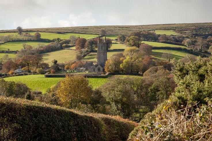Widdecombe Church Dartmoor Devon
