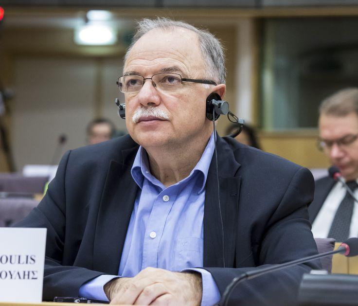 Ο Αντιπρόεδρος του Ευρωπαϊκού Κοινοβουλίου και επικεφαλής της Ευρωομάδας του ΣΥΡΙΖΑ, Δημήτρης Παπαδημούλης, μίλησε στο Eυρωκοινοβούλιο, στο πλαίσιο συζήτησης της Επιτροπής Οικονομικής και Νομισματι…