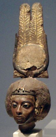 The Great Royal Wife Tiye, (Tutankhamun's grandmother) - from the Altes Museum in Berlin, Germany