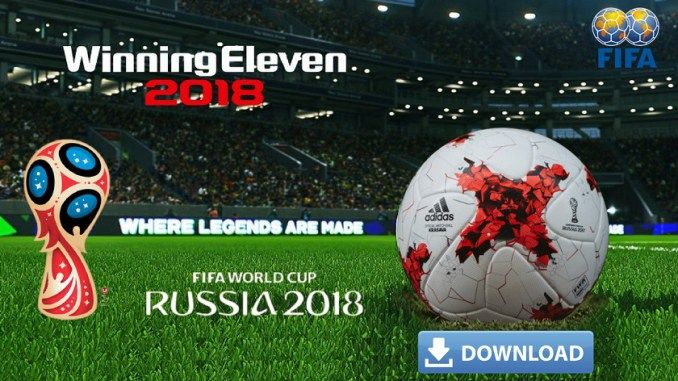 Winning Eleven 2018 WE 2018 Apk Mod Download for Android