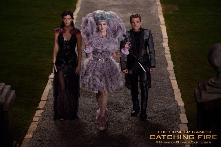 Katniss, Effie e Peeta