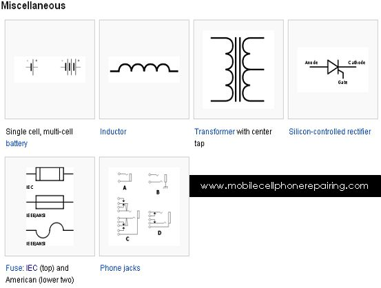circuit symbols single cell multi cell battery inductor circuit symbols single cell multi cell battery inductor transformer center tap silicon controlled rectifier fuse phone jack taps