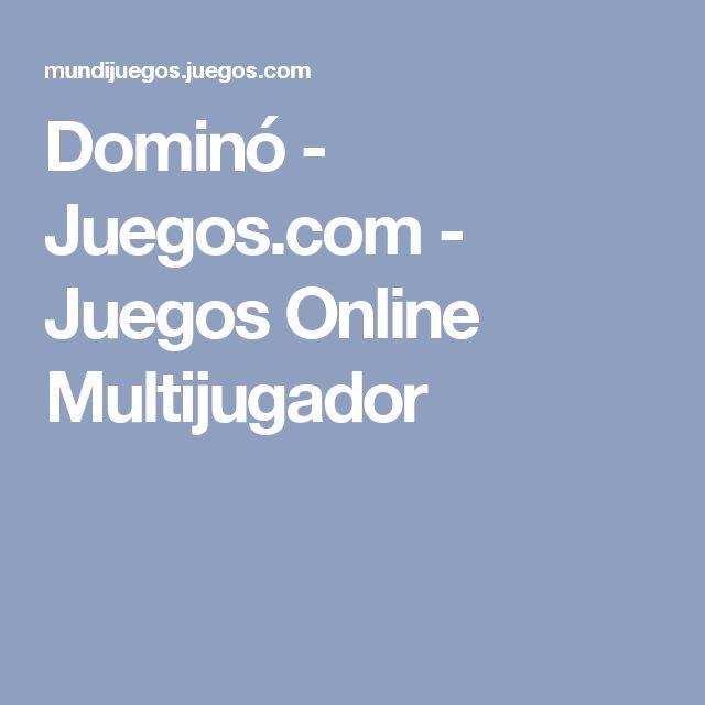 Dominó - Juegos.com - Juegos Online Multijugador
