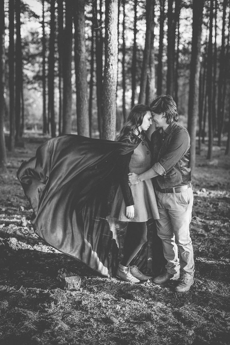 Gavin & René's 'Green Riding Hood' Engagement shoot in the forest || Gavin & René | www.kikitography.com