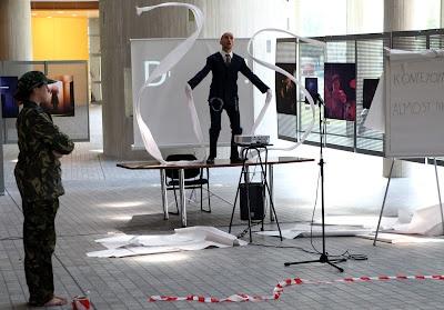Biennale 3 Thessaloniki  Festival performance:   Mikhail Karikis,   Highflyer