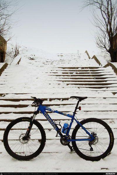 Cu bicicleta prin Bucuresti - traseul 12: Parcul Tineretului, roti pe zapada . Cycling In Bucharest - 12 - Tineretului Park, Wheels On The S...