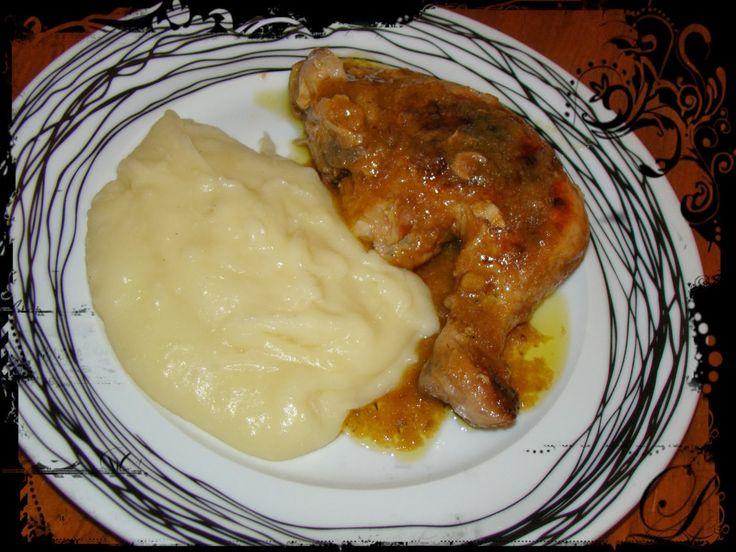 Κοτόπουλο με μπύρα και πορτοκάλι(3 μονάδες)