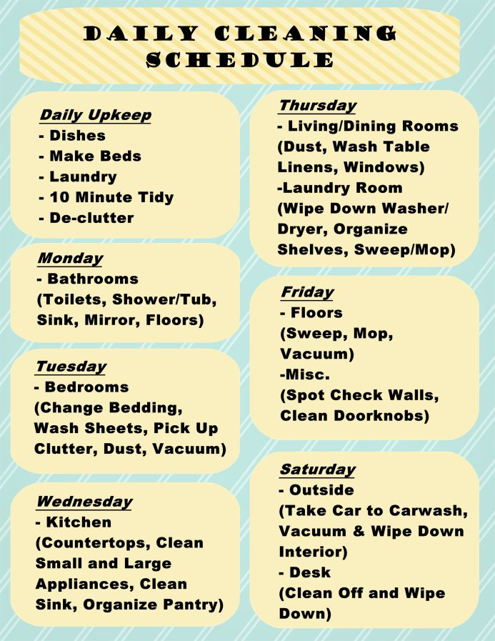 house cleaning schedule 15 best house cleaning schedules images on 12711