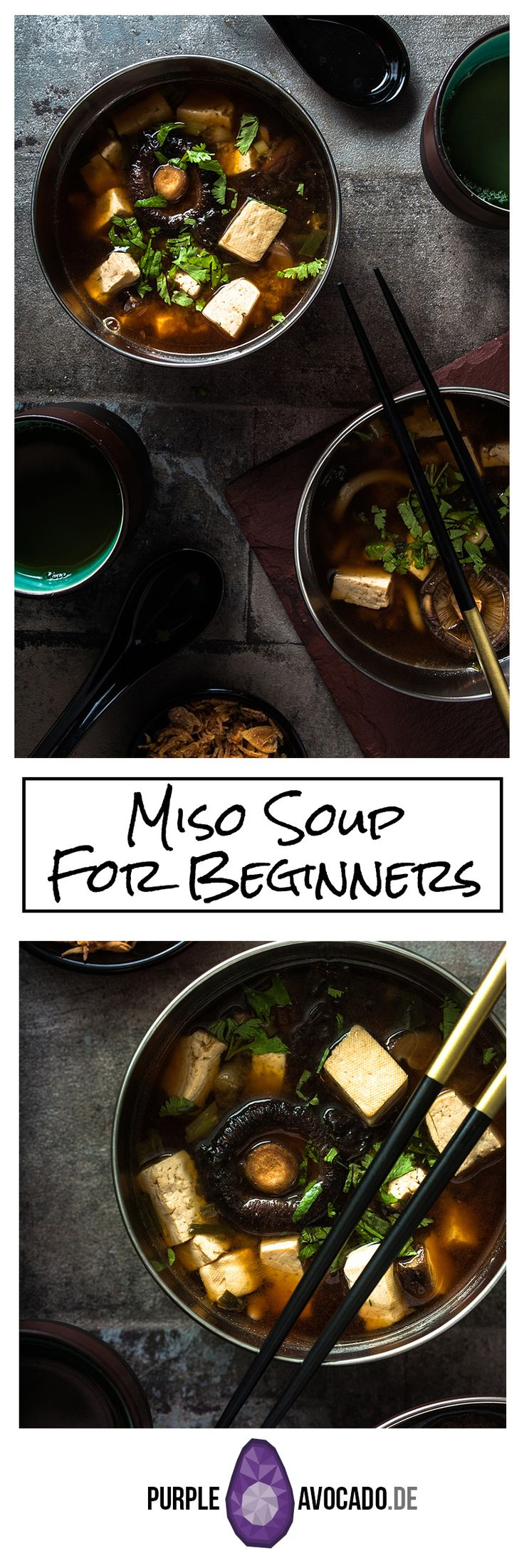 Basic Recipe for Miso Soup. Vegan and damn tasty!