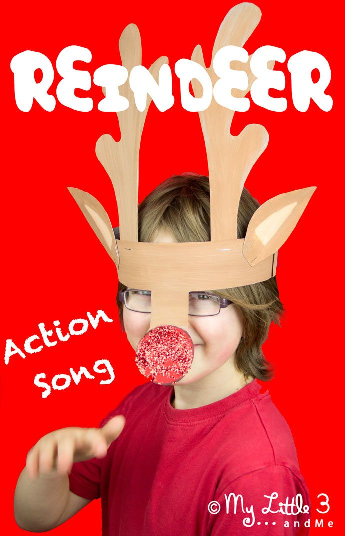 I'm A Little Reindeer - A fun Christmas action song from My Little 3 and Me.