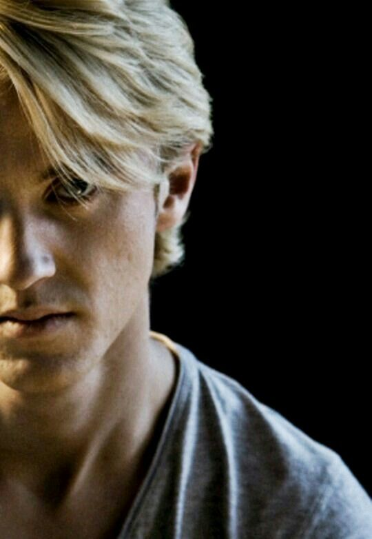 "((TOM FELTON)) (Draco): ""The name is Malfoy, Draco Malfoy."""