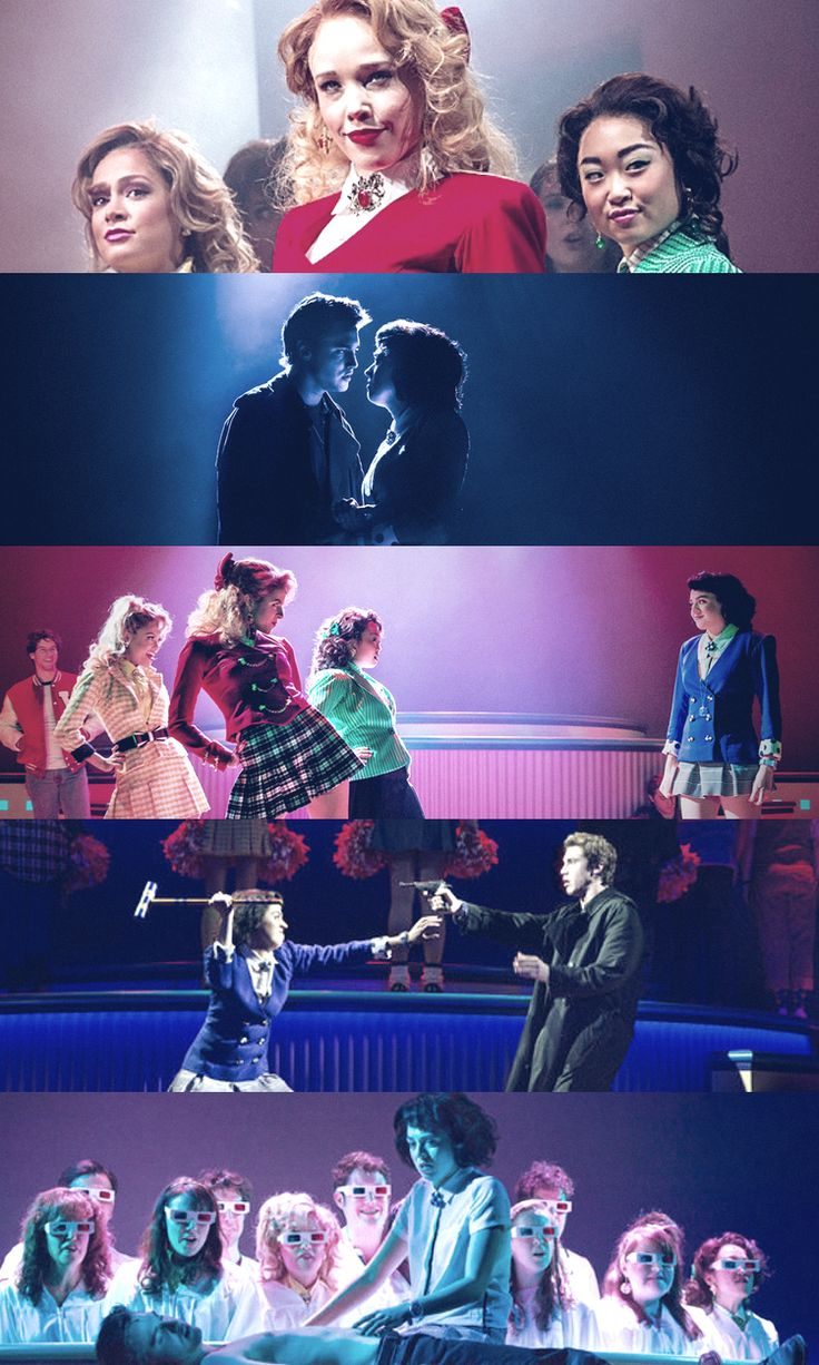 "Heathers the Musical - ""Fine. We're damaged. Really damaged. But that does not make us wise. We're not special, we're not different. We don't choose who lives or dies."""