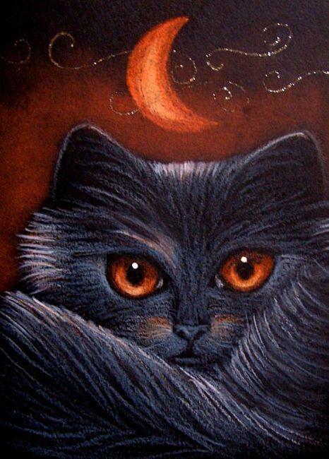 BLACK CAT by Cyra R. Cancel