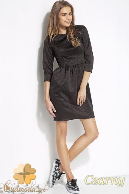 Dopasowana sukienka pikowana marki Alore.  #cudmoda.pl #alore #ubrania #moda #clothes