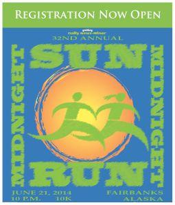 DONE! 2014 Midnight Sun Run: June 21st!!!!
