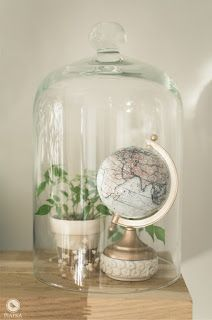 DIY globe makeover. Tutorial on my website.